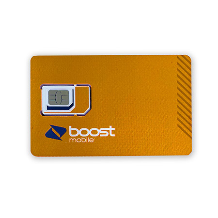 Picture of Boost 4 Card Sim