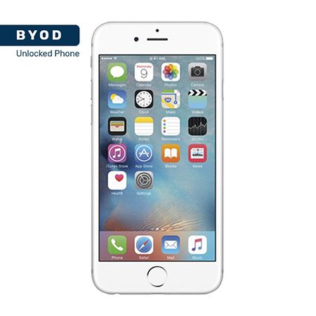 Picture of BYOD Apple iphone 6s 32GB Silver A Stock