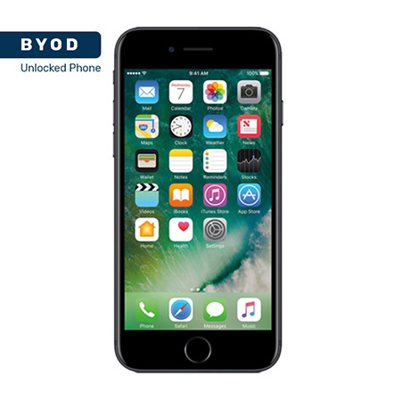 Picture of BYOD Apple iphone 7 128GB Black A Stock