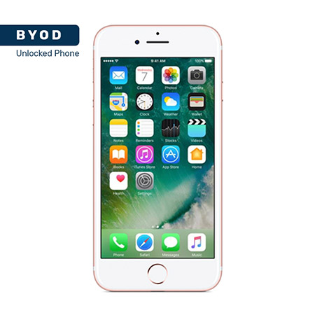Picture of BYOD Apple iphone 7 128GB Rose A Stock