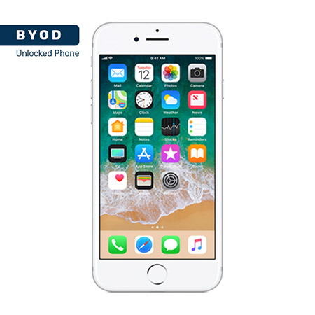 Picture of BYOD Apple iphone 7 128GB Silver A Stock