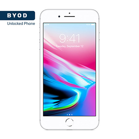 Picture of BYOD Apple Iphone 8 64GB Silver A Stock